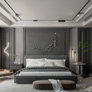 4253.Bedroom Scene Sketchup File free download by Nghia House