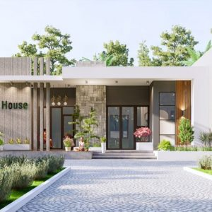 4340 Exterior House Scene Sketchup Model By Quoc Viet 1 1024x576 1