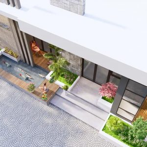 4340 Exterior House Scene Sketchup Model By Quoc Viet 4