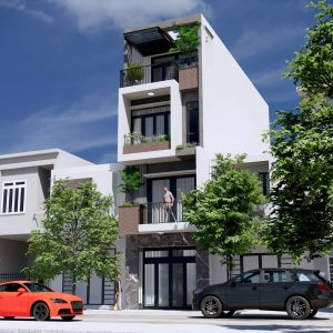 4400 Exterior House Scene Sketchup Model by Duy Dao 2