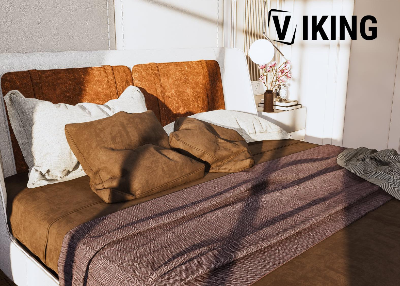 4444.Bedroom Scene Sketchup File free download by Duy Dao 2