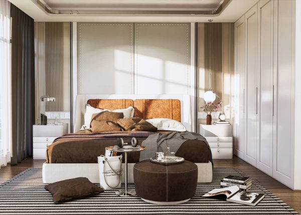4444.Bedroom Scene Sketchup File free download by Duy Dao 3