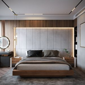4523.Bedroom Scene 3dsmax File free download by Mai Long 2