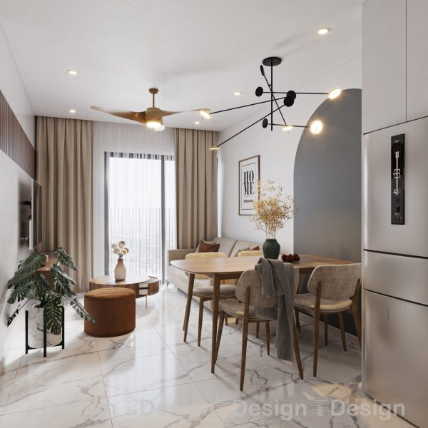 4534.Living Kitchenroom Scene Sketchup File free download by Trong Thanh 1