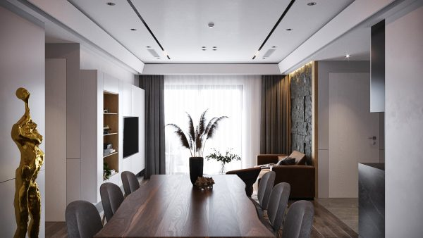 4552.Interior Apartment Scene 3dsmax File free download by Mai Long 2