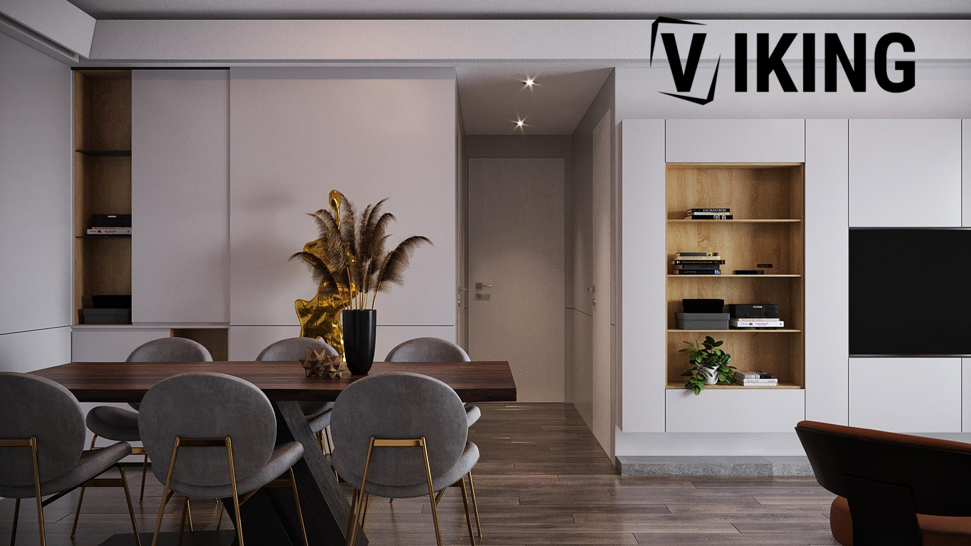 4552.Interior Apartment Scene 3dsmax File free download by Mai Long 4