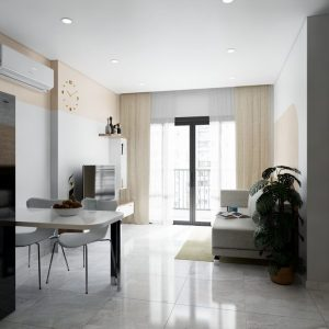 4600.Interior Apartment Scene Sketchup File free download by Pham Anh Tien 1