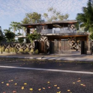 4722 Exterior House Scene Sketchup Model by Vi Luong 4 1536x864 1