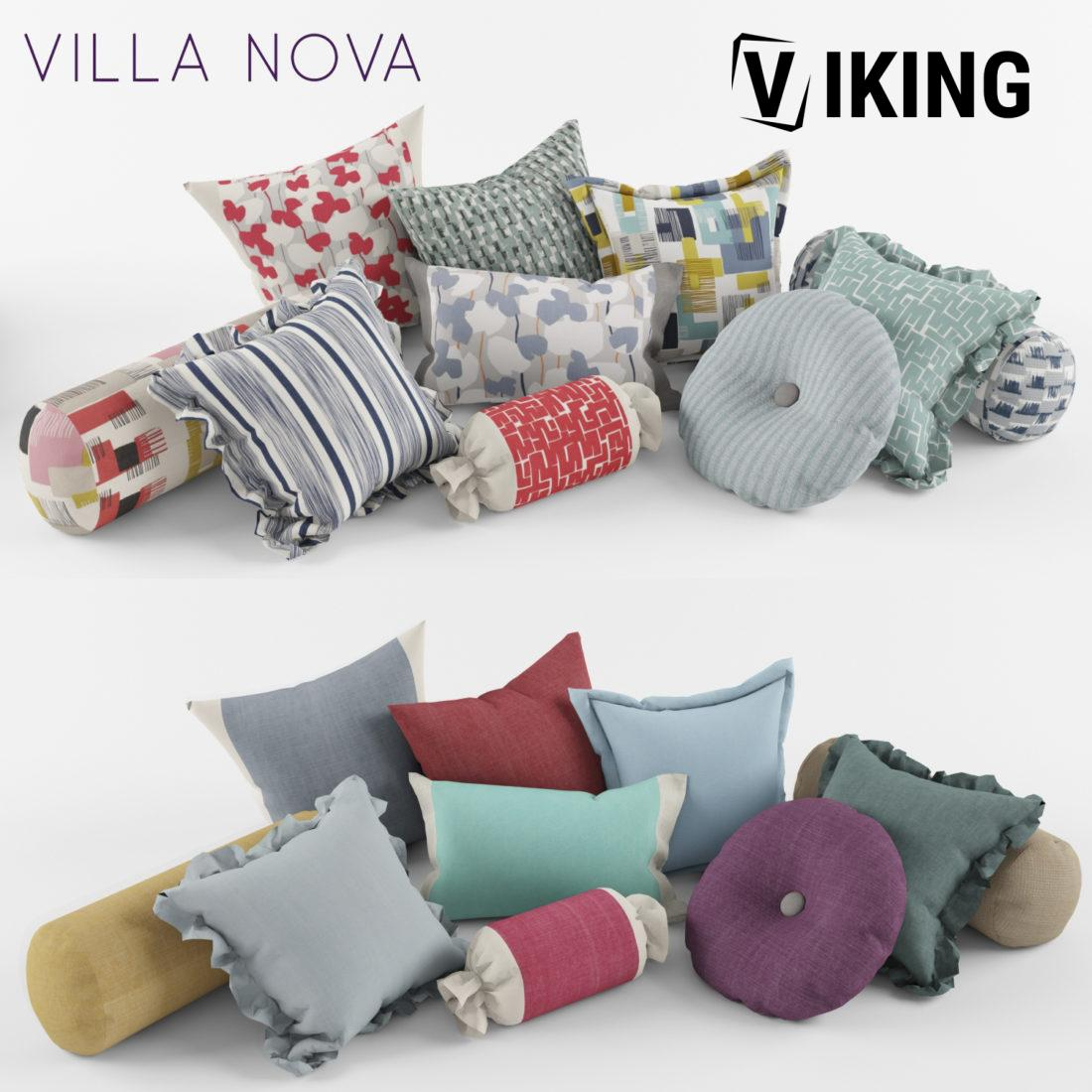 908.A set of Pillows 3dsmax File free download 1 scaled 1