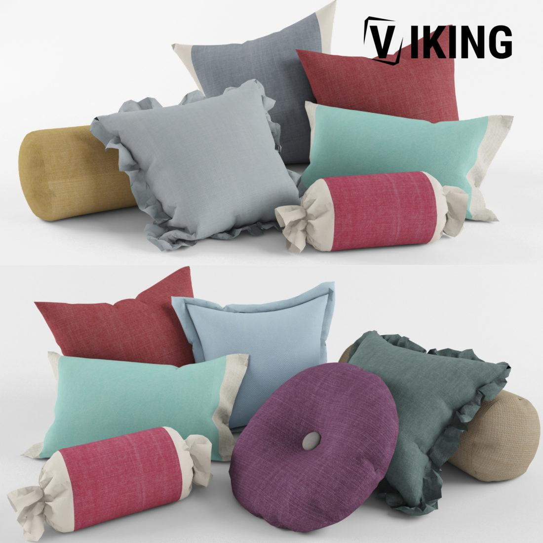 908.A set of Pillows 3dsmax File free download 3 scaled 1