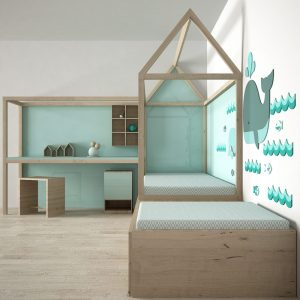 915.Child Bed 3dsmax File free download 3 scaled 1
