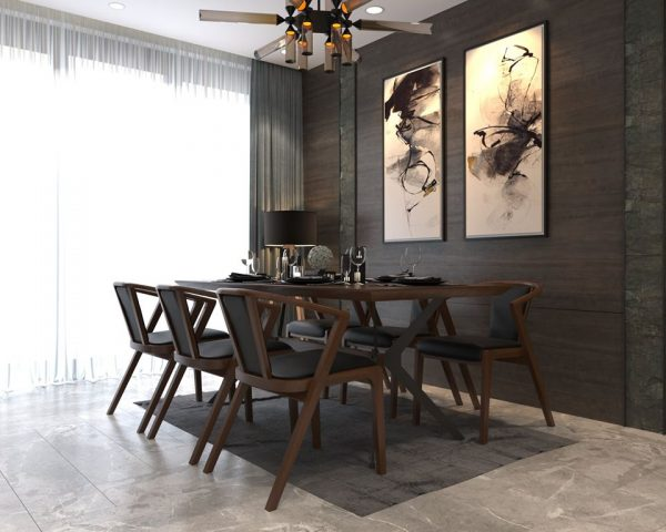 958.Dining Tables And Chairs 3dsmax File free download by Kts.PhamDiem 1