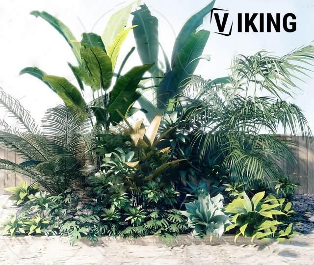 960.Plants Collection 3dsmax File free download