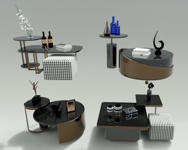 Luxury coffee table 3D models 52 Free download 2 scaled 1