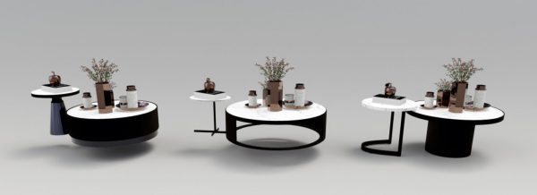 Luxury coffee table 3D models 57 Free download 2 1536x557 1